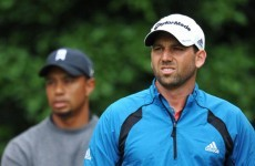 Is this the end of the dumbest feud in sport? Sergio and Tiger shake hands