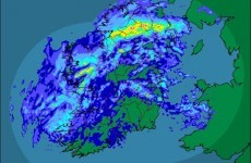 GIF: Ireland is swallowed whole by a terrifying rain demon