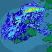 GIF: Ireland is swallowed whole by a terrifying rain demon