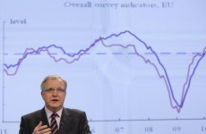"Irish default ""not on the cards"": Rehn"