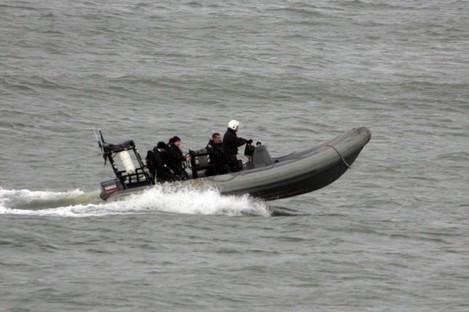 File photo of a Naval Service search vessel
