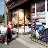 Locals annoyed that derelict shop facelift for G8 hides their economic woes