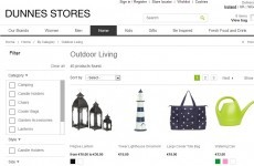 Shoppers can now buy Dunnes Stores wares online