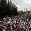 Greece's public services come to a halt as unions strike
