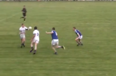 Kerry All-Ireland winner does somersault in club championship match