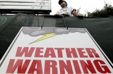 Play suspended at US Open as storm heads for Philadelphia
