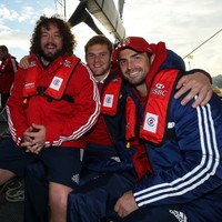 In pictures: Kearney celebrates Lions call by sailing up a storm in Sydney