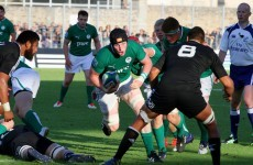 Ireland U20s' semi-final dreams dashed by mighty New Zealand