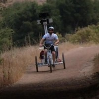 The Google street view trike that captured tourist hotspots revealed