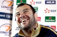 Irish Lions eager to keep 'Cheshire Cat grin' off Michael Cheika's face