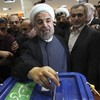 Early count signals victory for moderate cleric as Iran's new president
