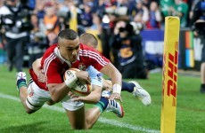 'A small bit of rust on my boots', says Zebo after near-perfect start for Lions