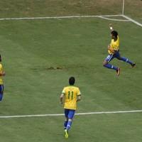 Stunning Neymar strike helps Brazil beat Japan in Confederations Cup