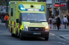 Man taken to hospital after being stabbed in the neck at Dublin halting site
