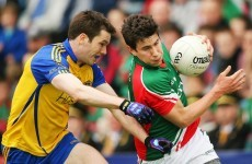 Mayo in control against Roscommon in Connacht SFC semi final