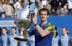 King of Queens: Murray serves notice of intent ahead of Wimbledon