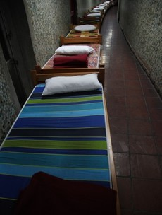 PHOTOS: Chilean torture centre converted into homeless shelter