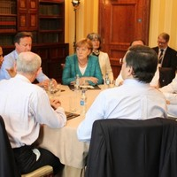 Caption Competition: What are the G8 leaders chatting about?