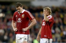 'We got what we deserved' admits Gatland as Lions crash to Brumbies loss