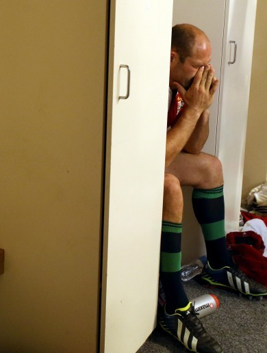'They wanted it more, right from the off' admits Lions captain Rory Best