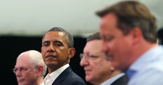 Obameron: David Cameron and Barack Obama's bromance continues at G8