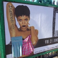Woman who covered Rihanna's boobs comes forward