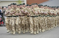 More than 4,400 British soldiers given their marching orders