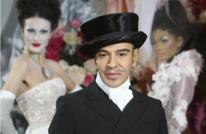 John Galliano to check into rehab