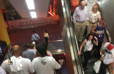 A load of Miami Heat fans left Game 6 early, banged on the doors to be let back for overtime