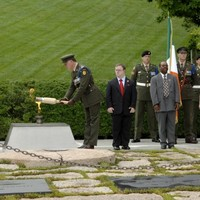 Pics: Defence Forces due home with JFK's eternal flame