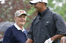 Nicklaus says Woods' slump will end