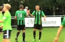 Henrik Larsson returns to play alongside his son for boyhood club