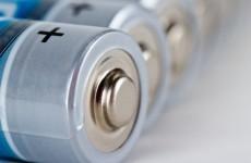 Irish homes have an average of 110 batteries lying around