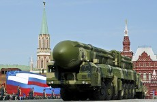 Russia and US now have 90 per cent of the world's nuclear weapons