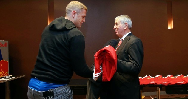Lions presented their Test jerseys ahead of first meeting with Australia