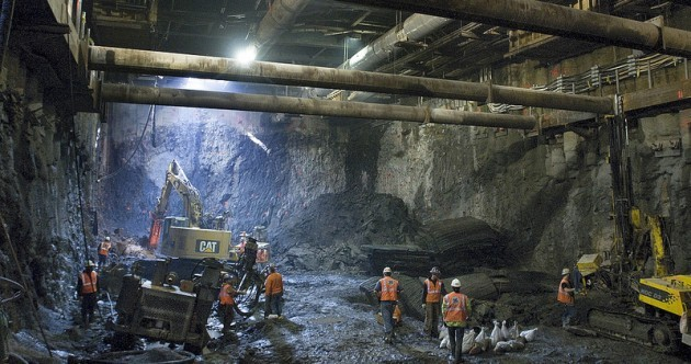 Photos: The hidden world under New York City streets as new subway is built