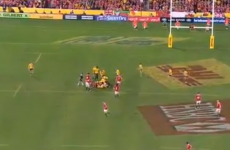 Here are the stunning tries (and big slip-up) from Lions' nerve-jangling 1st Test win