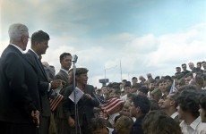 Thousands join Kennedy's relations in New Ross for JFK 50 celebrations
