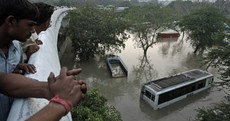 Photos: Rescuers race against time as India monsoon toll nears 600