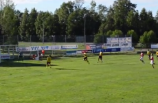 You won't see a better overhead goal from the Finnish 3rd division today