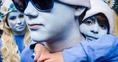 Why so blue?... Global Smurfs Day in pictures