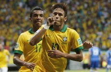 Neymar comes up trumps with another world class goal against Italy
