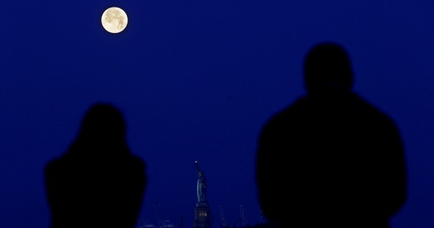 Did you see the supermoon last night?