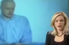 WATCH: News reporter swears on TV. Twice