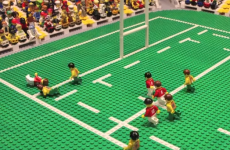 Check out the best bits of the Lions win over Australia... in Lego