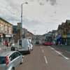 Two men knock a woman down for her handbag before hijacking another's car