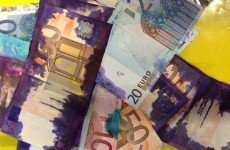 'Don't be involved in crime' say gardaí about stolen banknotes
