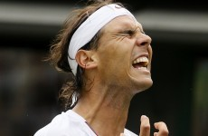 Shock as Rafa Nadal crashes out of Wimbledon in first round