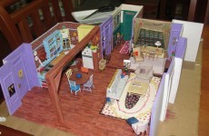 The apartment from Friends is now an amazing paper model