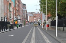 This is what Marlborough St will look like with a Luas line